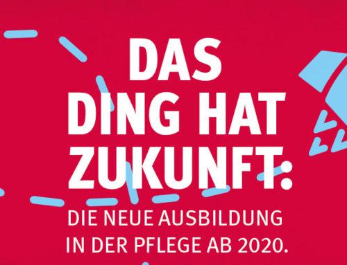 """Ab 2020 neue Ausbildung in Deutschland """"Pflegefachfrau- /mann"""""""